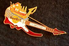 HRC Hard Rock Cafe Bangkok 6th Anniversary Guitar Red Thai Barge LE