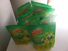 gain flings original detergent 8 packs lot of 16 count sealed   ship free