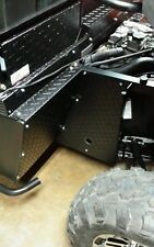 2015--2016 MIDSIZE 570 POLARIS RANGER BLACK  DIAMOND PLATE MUD BLOCKERS