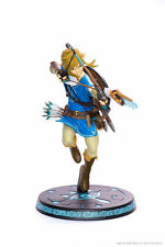 FIGURE ZELDA BREATH OF THE WILD O/T LINK STATUE FIRST 4 FOUR FIGURES STATUA 25CM
