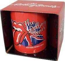 Rolling Stones: Lick The Flag Ceramic Coffee / Tea Mug - New & Official In Box