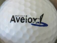 (1) AVELOX MEDICAL DOCTOR PHARMACEUTICAL LOGO GOLF BALL