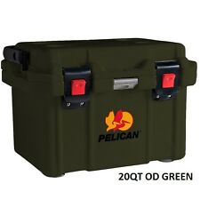 Pelican ProGear Deluxe Cooler Ice Chest 20qt 20 Quart OD Green - 20Q-MC-ODGRN