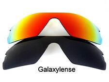 Galaxy Replacement Lenses for Oakley Radar Path Black&Red Polarized 2 Pairs