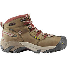 New Keen Womens Detroit Mid Steel Toe Waterproof Safety Construction Boots Sz 7