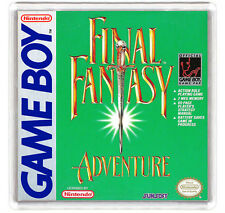FINAL FANTASY ADVENTURE NINTENDO GAME BOY FRIDGE MAGNET IMAN NEVERA