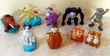 MCDONALD'S HAPPY MEAL 2012 ICE AGE 4 TOY ACTION FIGURES COMPLETE SET MOVIE PROMO