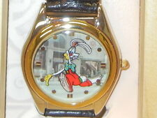 NEW DISNEY WHO FRAMED ROGER RABBIT LIMITED EDITION SERIES TRAIN WATCH by FOSSIL