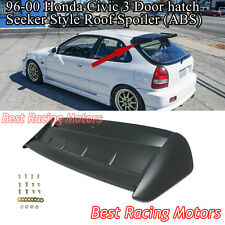 Seeker Style Roof Spoiler Wing (ABS) Fits 96-00 Honda Civic 3dr Hatch
