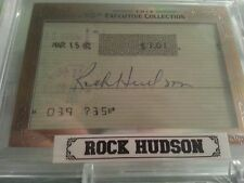 2013 Leaf Executive ROCK HUDSON CUT AUTO 1 OF 1 AUTOGRAPH SIGNED PSA DNA JSA