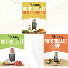 Skinny Nutribullet 3 Books Set Pack by Cooknation(The Skinny Nutribullet Recipe)