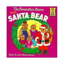 First Time Books: The Berenstain Bears Meet Santa Bear by Jan Berenstain and...