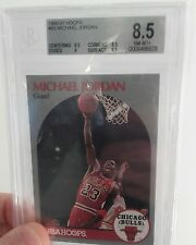 HOOPS 1990-1991 #65 Michael jordan bgs 8.5 NM-MT+