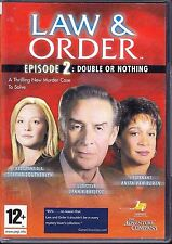 Law & Order Episode 2: Double Or Nothing - PC Game