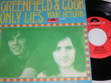 "7"" - Greenfield & Cook - Only Lies & Your Return # 1519"