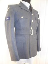 MOD SURPLUS Royal Air Force NO1 Dress SD Uniform parade LAC RAF Jacket tunic 38c