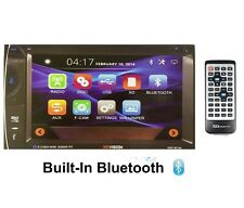 """6.2"""" TFT DOUBLE DIN IN DASH MULTIMEDIA DVD CAR AUDIO STEREO BLUETOOTH RECEIVER"""