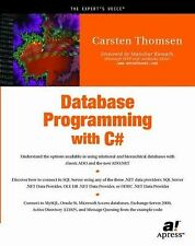 Database Programming with C# by Carsten Torben Thomsen (2002, Paperback, New...