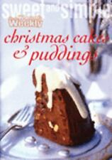 Christmas Cakes and Puddings by Australian Women's Weekly Staff (Paperback,...