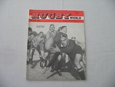 Rugby World (Rugby Union) Magazine. October 1960. 1st Edition.