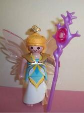Playmobil        Fairy Lady & Staff with Jewel for Magic Castle sets -  NEW