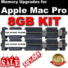 8GB (2x 4GB) DDR2 667MHz FB-DIMM Apple Mac Pro 2006 Dual Core Memory SALE 50% UK