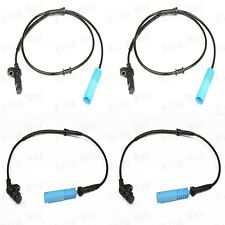 NEW 4pcs ABS WHEEL SPEED SENSOR FRONT REAR LEFT RIGHT FOR BMW 1999-2001 E38