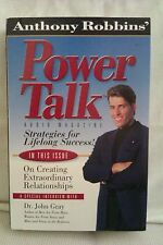 Power Talk by Anthony Robbins: Unabridged Cassette Audiobook (OO2)