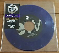 "Pantera & Poison Idea - The Badge  7"" Purple Vinyl"