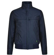 Genuine Mens Hugo Boss Green Sports Outdoor Jacket Navy S (38) RRP£280 (Jadon19)