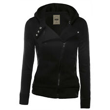 Womens Winter Hooded Hoodie Sweatshirt Sport Wear Zipper Coat Jacket Jumper Top