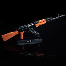 Gun Model AK-47 AK47 DIY Metal Diecast Army Russian Rifle Assemble 1:3.5 Scale
