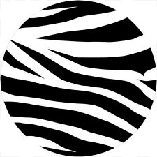 Zebra Spare Tire Cover Jeep RV Camper VW trailer etc(all sizes available)