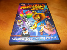 MADAGASCAR 3 Europe's Most Wanted Dreamworks Classic Animated Children's DVD