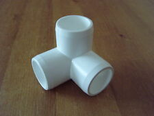 furniture grade PVC 3 way 1/2 inch fittings 4 in pack