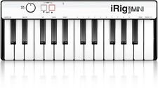 NEW IK Multimedia iRig Keys Mini USB Midi Keyboard Controller 25 Key Sampletank