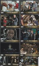 2016 TOPPS CHROME STAR WARS THE FORCE AWAKENS BEHIND THE SCENES COMPLETE SET 12