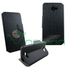 Custodia FLIP LINGUETTA cover STAND NERA per NGM Forward Escape case frontalino