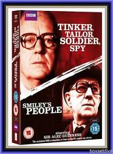 TINKER TAILOR SOLDIER SPY & SMILEY'S PEOPLE *BRAND NEW  DOUBLE PACK DVD BOXSET *