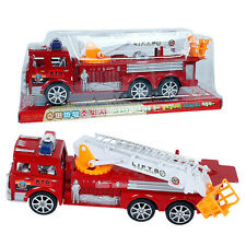 10*29cm Fire Truck Large Fire Engine Vehicle Model + Ladder for Children's Toy