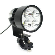 12V-80V Universal Motorcycle E-bike 20W LED Modified Headlight Weiß Licht Lampen