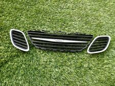 2003-2007 SAAB 93 9-3 FRONT GRILL SET OF 3 OEM A4