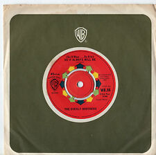 "Everly Brothers - So It Always Will Be 7"" Single 1963"