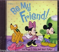 Walt Disney Be My Friend CD Classic Greatest Heart String Songs Hercules Aladdin
