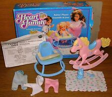 The Heart Family 7891 Spielset Babie's Playset Familie mit Herz in oVp Mattel