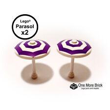 LEGO Parasols / Umbrellas x2