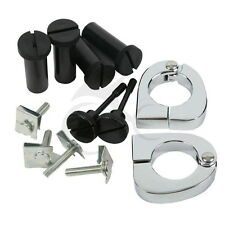 Quick Release Mounting Hardware Kit Lower Vented Fairings For Harley Touring