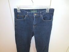 Ralph Lauren Jeans Relaxed  Stretch  Dark Wash  Size 4  Lot Y3