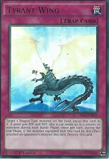3 X YU-GI-OH ULTRA RARE CARD: TYRANT WING - DRL3-EN061 - 1st EDITION