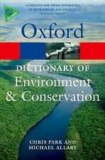 A Dictionary of Environment and Conservation (Oxford Quick R